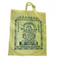 Green Printed Carry Bags