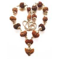 One faced rudraksha mala nacklaces