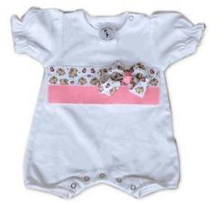 Organic Cotton Baby Romper