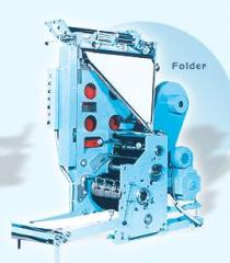 Web Offset Printing Machine - Folder