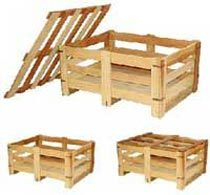 Soft Wooden Crates