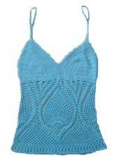Hand Crocheted Lace Top