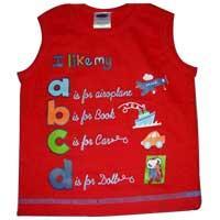 Boys Sleeveless Lycra T Shirt