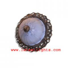 Surface Mounted Ceiling Light (ethnic)