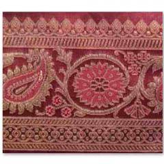 Zari Border Fabrics