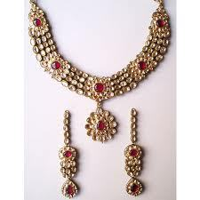 Kundan and Polki Necklaces