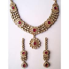 Kundan and Polki Necklaces