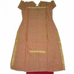 Tussar Silk Pareos Suit