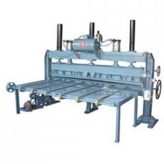 Pneumatic Veneer Clipper Machine
