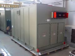 Generator Circuit Breaker Compartments
