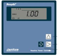 JANITZA Reactive Power Control Relays
