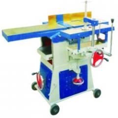Wood Thicknessor With Side Cutter Machine