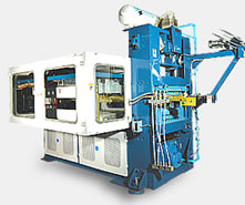 High speed roll fed trim-in-place thermoforming