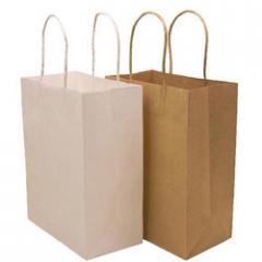 Kraft Carrying Paper Bags