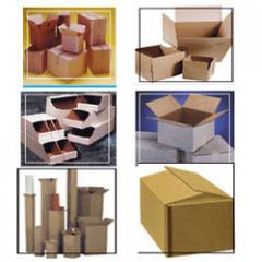 Corrugated Boxes in various shapes and sizes