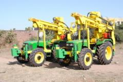 Tractor mounted Drilling Rigs