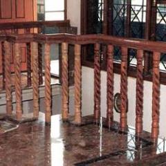 Wooden Railing Pillar