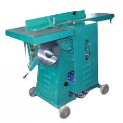 Wood Working Machine With Side Cutter