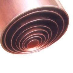 Pipes made of copper