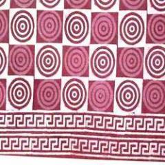 Block Printed Bed Sheet