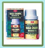 Nagachampa Herbal Massage Oil