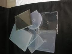 Plastic Cd/Dvd Cases
