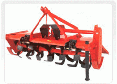 Single Speed Chain Drive Rotary Tiller