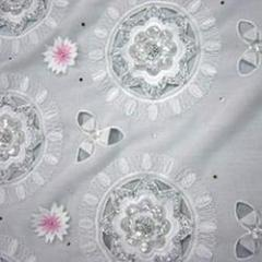 Nylon & Polyester Embroidered Fabrics
