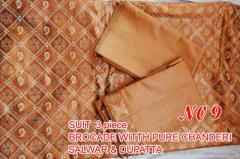 Brocade Salwar Suit