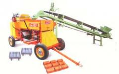 Mobil Clay Brick Making Machine