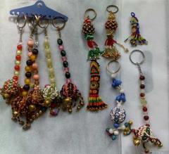Beaded Key Rings