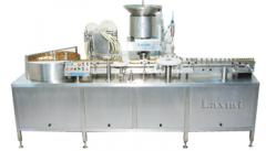 Automatic 4 head vial filling machine LVHS-6