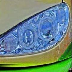 Magic Headlamps-Automobile