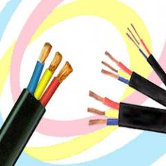 3-Core Flat Submersible Cables