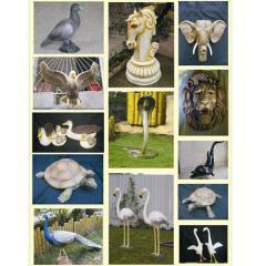FRP Garden Animals