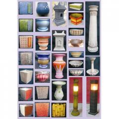 Garden Pots & Garden Lighting