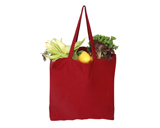 Canvas shopping bag colored