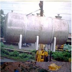Horizontal Saddle Mounted Storage Tank