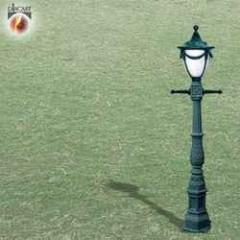 Wrought Iron Garden Lamps