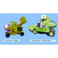 Mini Mobile Concrete Batching Plant With RD