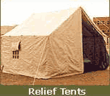 Single Fly General Service Tents