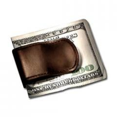 Leather Money Clips