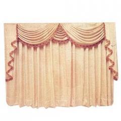 Floral Cloth Curtains