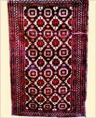 Black Balouch Carpet