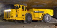 Underground trucks