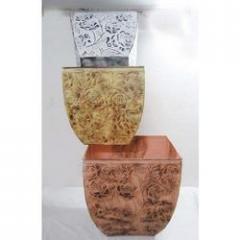 Square Face Designer Vase