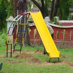 Slide With Arch Ladder