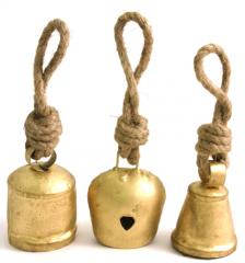 IRON BELLS WITH ROPE