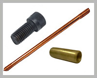 Threaded Copper Bonded Earth Rods