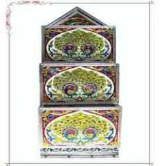 Triple Letter Box Minakari